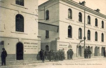 Ancienne Imprimerie Paul Dupont ( rue Jeanne d'Asnières) © Communes.com