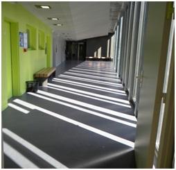 Couloir - © Ville de Clichy