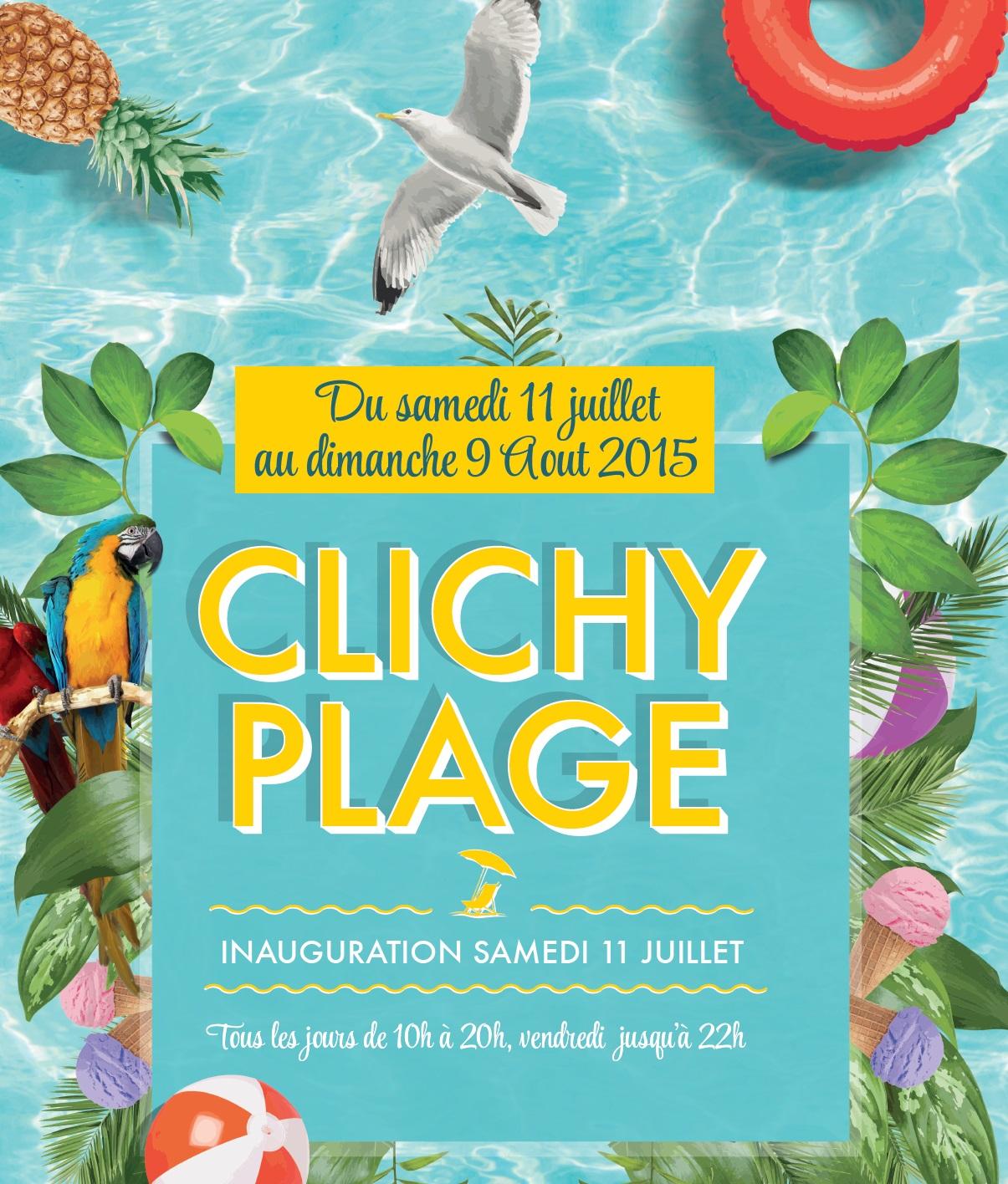 Clichy plage derniers jours ot clichy - Piscine municipale clichy ...