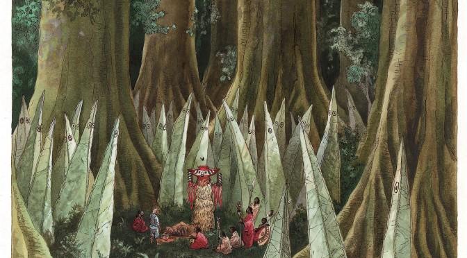 Illustration François Place © Editions Castermann, extraite des Atlas des géographes d'Orbae