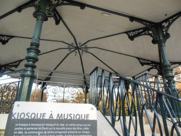 Kiosque à musique © Office de Tourisme de Clichy-la-Garenne