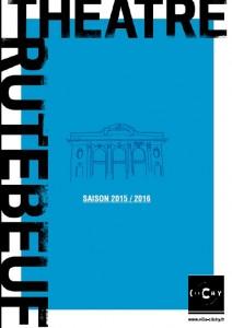 affiche programme théâtre 2015-2016