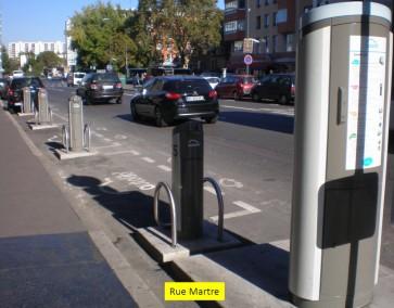 station Autolib' - 87 rue Martre © Ville de Clichy-la-Garenne